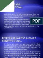 COSA JUZGADA Y/O CASACION