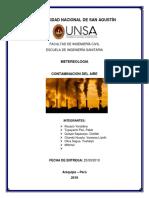 Contaminación Del Aire Meteorologia 1