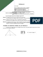 Resumão Triângulos