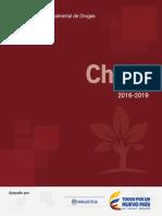 Plan Departamental Drogas Choco 2016 2019