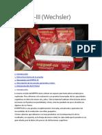 WPPSI-III (Wechsler)
