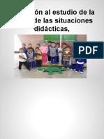 Adecuacion- Iniciación Al Estudio de La Teoría de Las Situaciones Didácticticas