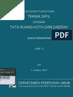 Hubungan Fungsional Teknik Sipil Dengan Tata Ruang Kota Dan Daerah