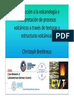 VOLCANOLOGIA E INTERPRETACION DE PROCESOS VOLCANICOS