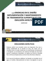 Tratamientos Superficiales Hcc Santiago Lopez