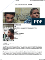 Socrates Movie Review