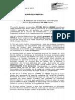Derecho Petición - Concejo Mpal - Caso Contralor Autoproclamado
