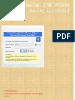Pemeliharaan Data DPRD Dan PPBASN