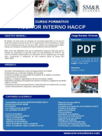 Curso Auditor Interno Haccp - Julio 2019