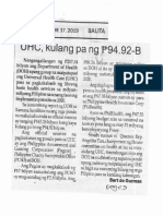Balita, Oct. 17, 2019, UHC, kulang pa ng P94.92-B.pdf