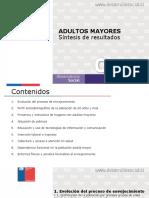 Resultados Adulto Mayores Casen 2017