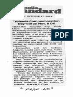 Manila Standard, Oct. 17, 2019, Yolanda Commemoration Day bill on Nov. 8 OK.pdf