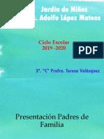 Primera Reunion Padres de Familia 2019 TERE.pptx