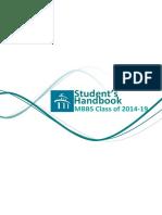Student's Handbook 2014