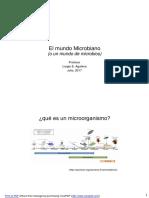 El Mundo Microbiano