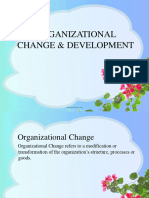 Chapter-7 Organizational Change & Development