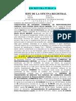 CONSTITUCION DE SOCIEDAD COMERCIAL DE RESPONSABILIDAD LIMITADA