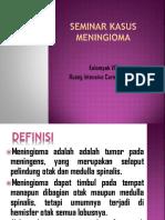 Ppt Seminar Kasus Meningioma Ppk3