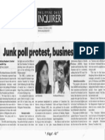 Philippine Daily Inquirer, Oct. 17, 2019, Junk poll protest, business club asks.pdf