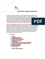 Electrical Wiring Guidelines