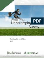 Work2future Underemployment Report 6.0