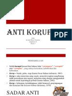 Sadar Anti Korupsi - Andi Haris Nst