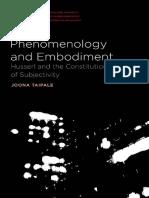 Phenomenology and embodiment. Joona Taipale