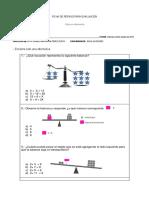 Ficha de Repaso Matematica Evaluación