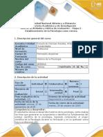 Guía de Actividades y Rúbrica de Evaluación - Etapa 2 - Establecimiento de La Psicología Como Ciencia