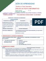 Sesión El Texto Informativo