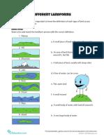 Different Landforms