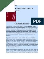 EL MONO VILLEGAS - Reportaje Sobre Jazz y Rock