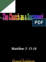 Church as a Sacrament