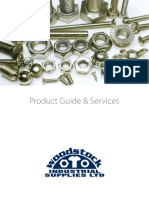 woodstock product guide and services