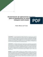 Clusterizacion de aplicaciones paralelas