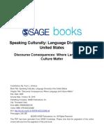 Speaking Culturally n8
