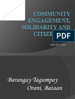 Community Engagement Solidarity and Citizenship