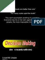 decison making