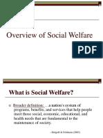 Overview Social Welfare