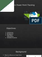 Proposal Mppt12 Presentation