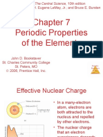 Chapter 7 Periodic Properties of Elements
