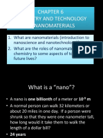 Bab 6 Chemistry and Technology of Nanomaterials