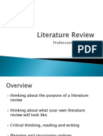 Literature Review Revised