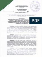 HR 653 Inquiry Leonardo Co Death