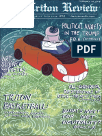 The Triton Review,  Volume 34 Issue 3, Published February 12 2018 (misprinted as issue 9)
