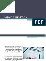 Unidad 3 Bioetica