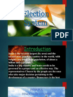 Election System in India-PPT.