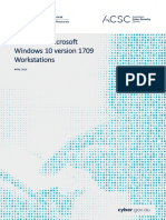 PROTECT - Hardening Microsoft Windows 10 Version 1709 Workstations (April 2019)
