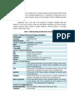 Product Description - Hydrochloric Acid