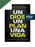 Descargar Un Dios, Un Plan, Una Vida Libro Gratis (PDF EPub Mp3) - Max Lucado